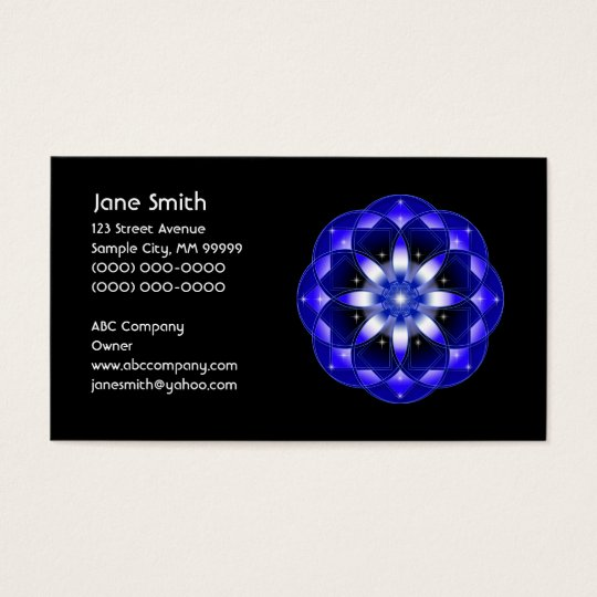 Cosmic Flower Business Card