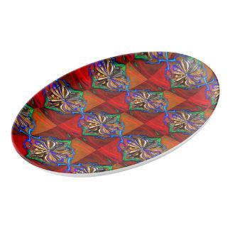 Cosmic Flower Platter