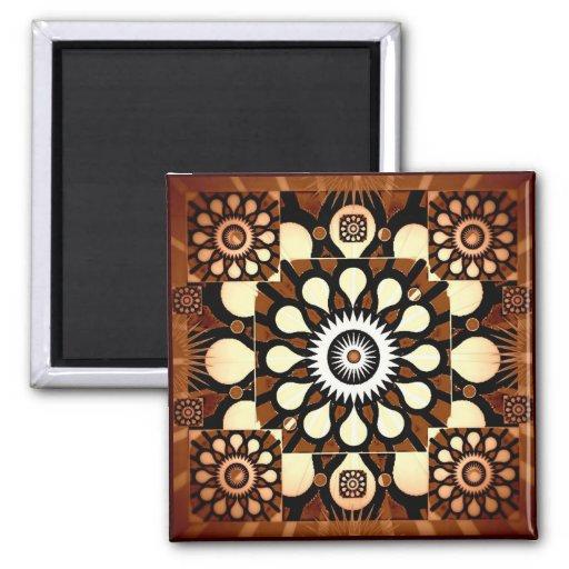 Cosmic Flowers II Magnet