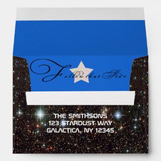 Cosmic Follow that Christmas Star Envelope