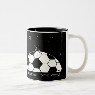 Cosmic Football Mug - Love Illustration