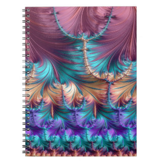 Cosmic Fountain of Childhood Fractal Abstract Notebook