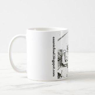 """Cosmic Fowl"" Mug #1"