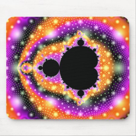 Cosmic Fruit Fractal Mousepad