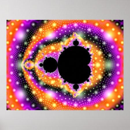 Cosmic Fruit Fractal Poster