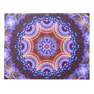 Cosmic Geometry Mandala Notepad