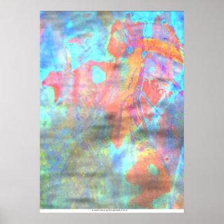 Cosmic Ghost by Rowan Blair Colver Poster