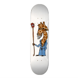 Cosmic Giraffe Skate Deck