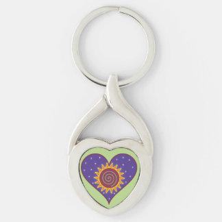 Cosmic Heart Key Chain - Heart