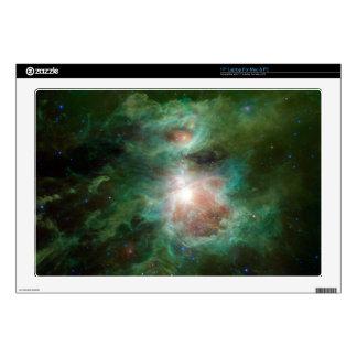 "Cosmic Hearth 17"" Laptop Skin"