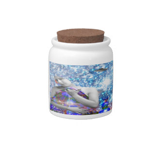 Cosmic Hitch-hiker Candy Jars