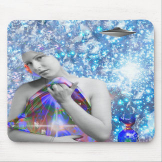 Cosmic Hitch-hiker Mouse Pad
