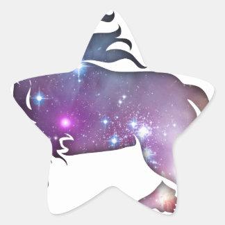 Cosmic Horse Star Sticker