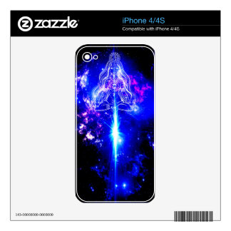 Cosmic Iridescence Decal For The iPhone 4S