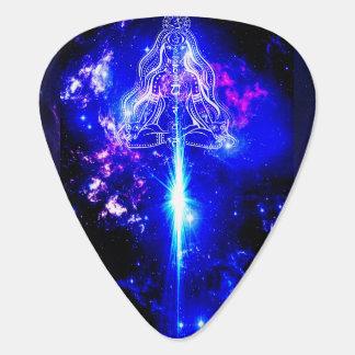 Cosmic Iridescent Guitar Pick
