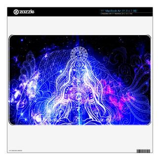 "Cosmic Iridescent Koi 11"" MacBook Air Decal"
