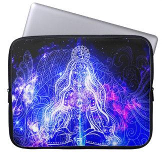 Cosmic Iridescent Koi Laptop Sleeve