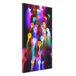 Cosmic Jellies Stretched Canvas Print