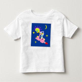 Cosmic Juggler Cartoon Style original Character Toddler T-shirt