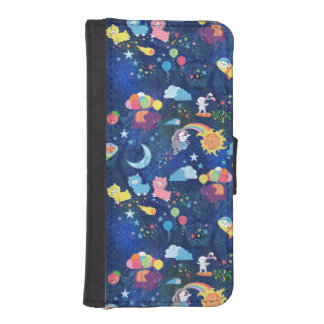 Cosmic Kawaii iPhone SE/5/5s Wallet Case