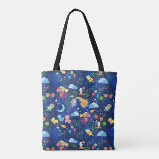 Cosmic Kawaii Tote Bag