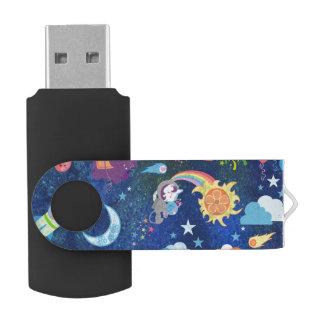Cosmic Kawaii USB Flash Drive