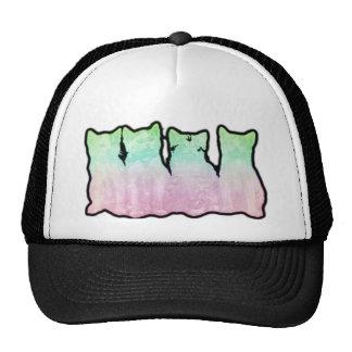 Cosmic Kittens Rainbow Trucker Hat