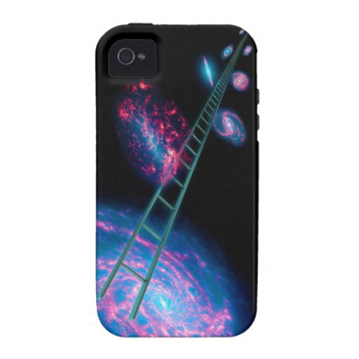 cosmic ladder Case-Mate iPhone 4 covers