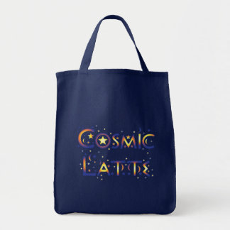 Cosmic Latte Grocery Tote Bag