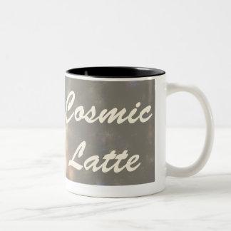 Cosmic Latte Two-Tone Coffee Mug