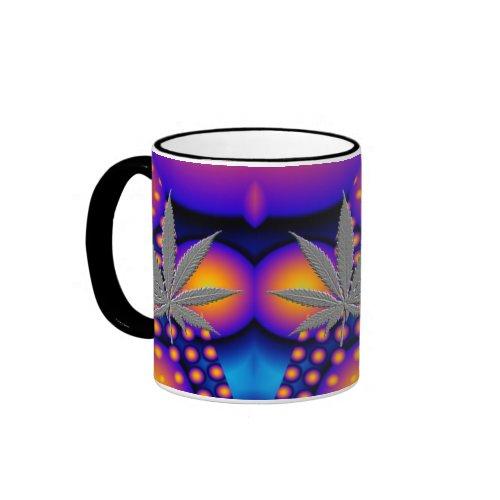 Cosmic Leaf mug