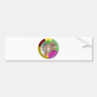 Cosmic Light Source Design Bumper Stickers