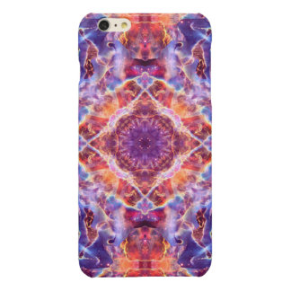Cosmic Lightning Cross Mandala Glossy iPhone 6 Plus Case