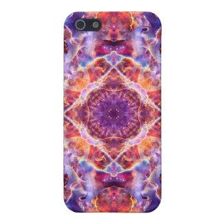 Cosmic Lightning Cross Mandala iPhone SE/5/5s Cover