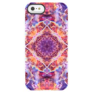 Cosmic Lightning Cross Mandala Permafrost® iPhone SE/5/5s Case