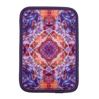 Cosmic Lightning Cross Mandala Sleeve For iPad Mini