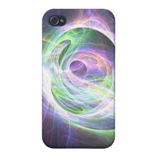 Cosmic lights iPhone 4/4S cover
