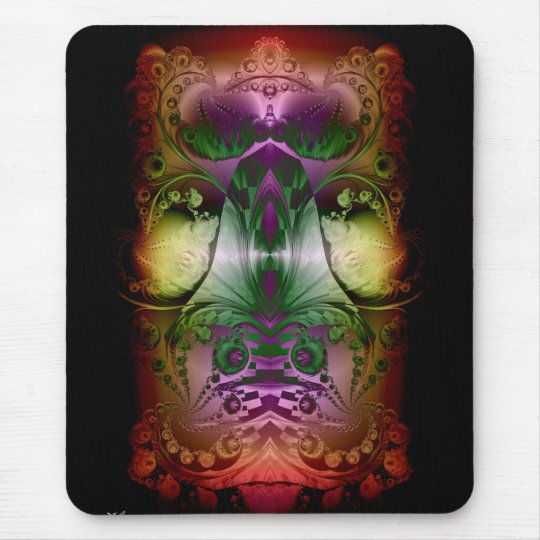 Cosmic Lights Mouse Pad