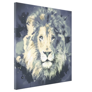 COSMIC LION KING STRETCHED CANVAS PRINTS