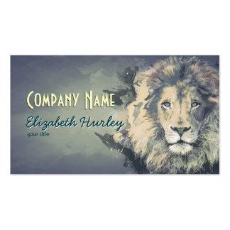 COSMIC LION KING | Custom Business Cards