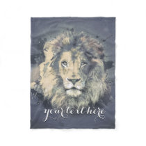 COSMIC LION KING | Custom Fleece Blanket
