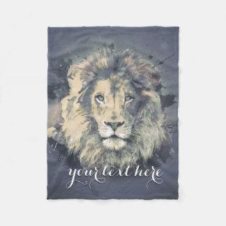 COSMIC LION KING | Custom Fleece Blanket