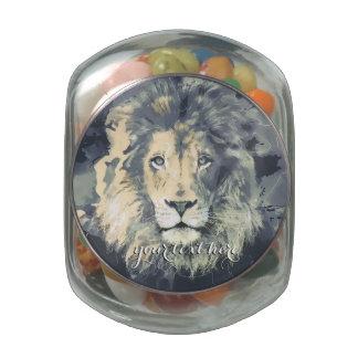 COSMIC LION KING | Custom Jelly Belly Glass Jar