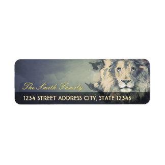 COSMIC LION KING | Custom Return Address Labels