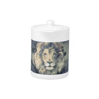 COSMIC LION KING | Custom Teapot