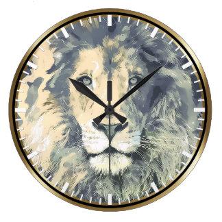 COSMIC LION KING | Custom Wall Clock