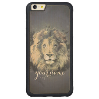 COSMIC LION KING | iPhone Samsung Galaxy Wood Case