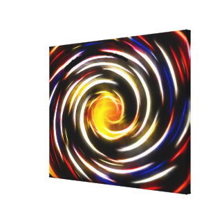 Cosmic Love Enter The Whirlpool Canvas Print