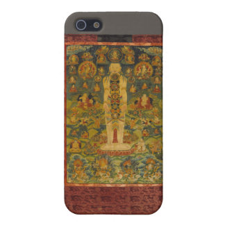Cosmic Man Tibetan Yoga Thangka iPhone SE/5/5s Case