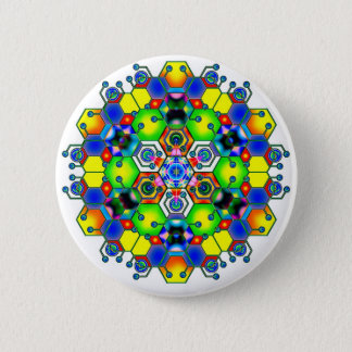 Cosmic Mandala 1 Button
